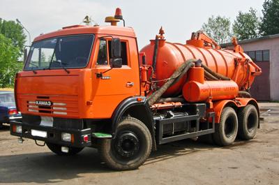 Машина для очистки канализационных сетей